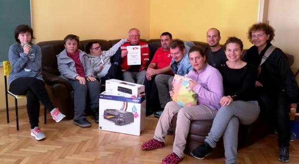 Centar za inkluziju i podršku u zajednici Buje dobio poklone od Crvenog Križa