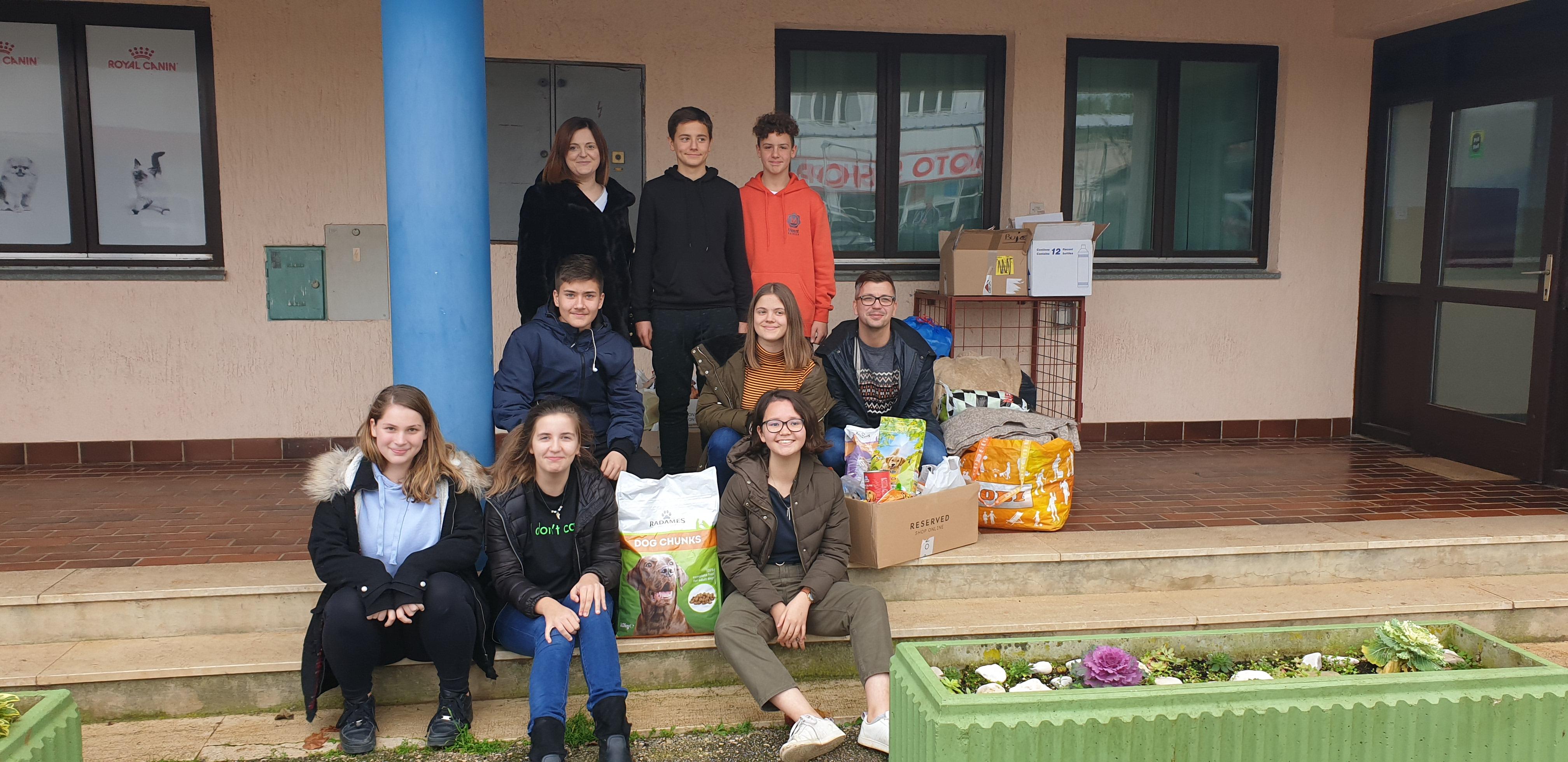 U Osnovnoj školi Mate Balote u Bujama održana humanitarna akcija