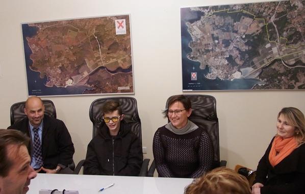 Gradonačelnik Novigrada ugostio i nagradio uspješnog mladog para-karatistu Jasmina Ćatića