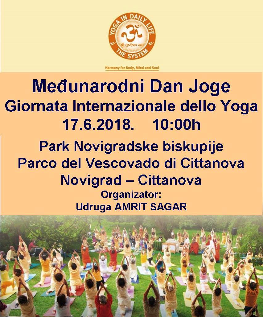 Obilježavanje Međunarodnog dana joge