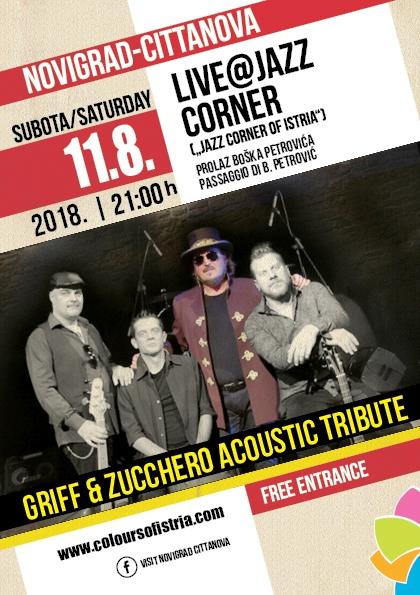 Griff & Zucchero acoustic tribute