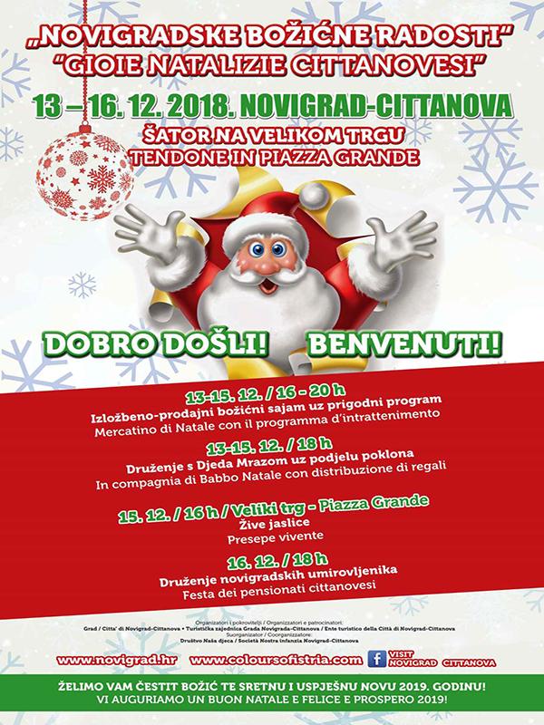 """Božićni sajam """"Novigradske božićne radosti"""""""