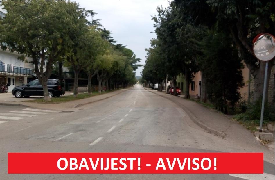Najavljen poseban režim prometa u Novigradu