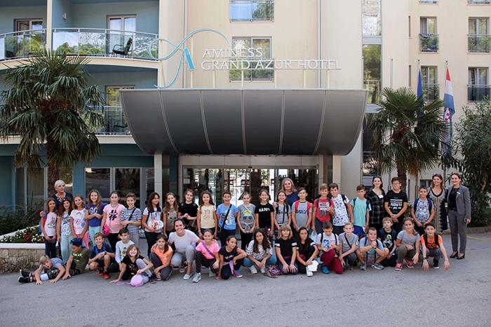 Učenici iz OŠ-SE Rivarela i Talijanske OŠ Novigrad posjetili poluotok Pelješac