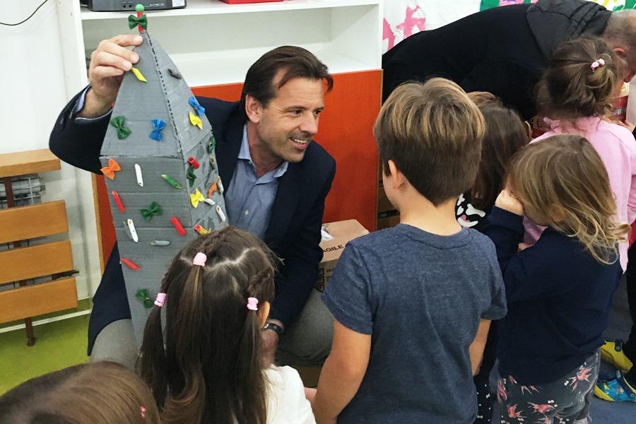 Anteo Milos posjetio mališane dvaju novigradskih vrtića