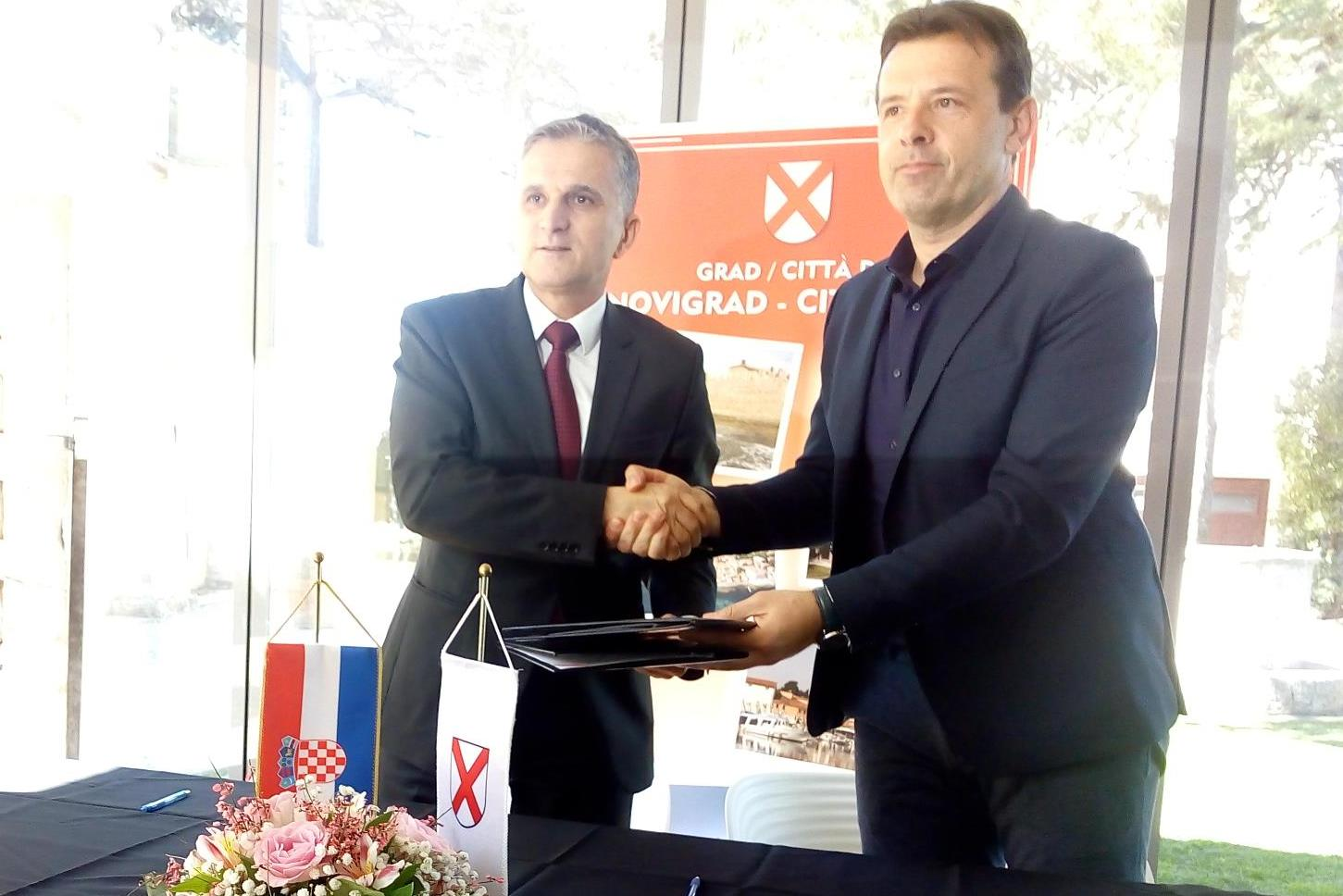 Ministar Marić i gradonačelnik Milos potpisali Ugovor o darovanju zemljišta za proširenje radne zone Vidal