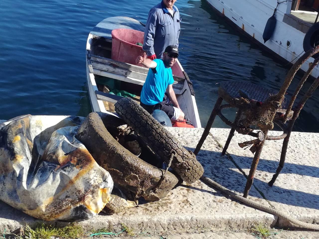 Eko akcija čišćenja podmorja i priobalja u novigradskom akvatoriju