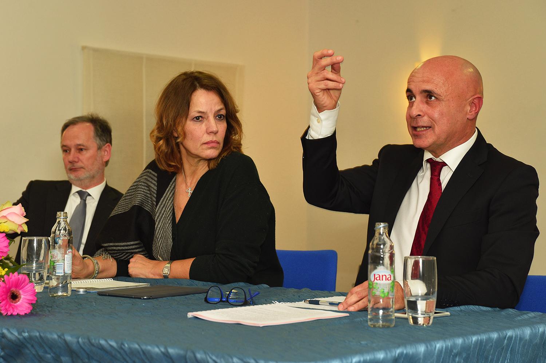 Maurizio Tremul, Elisabetta Gardini, Alessandro Zehentner.