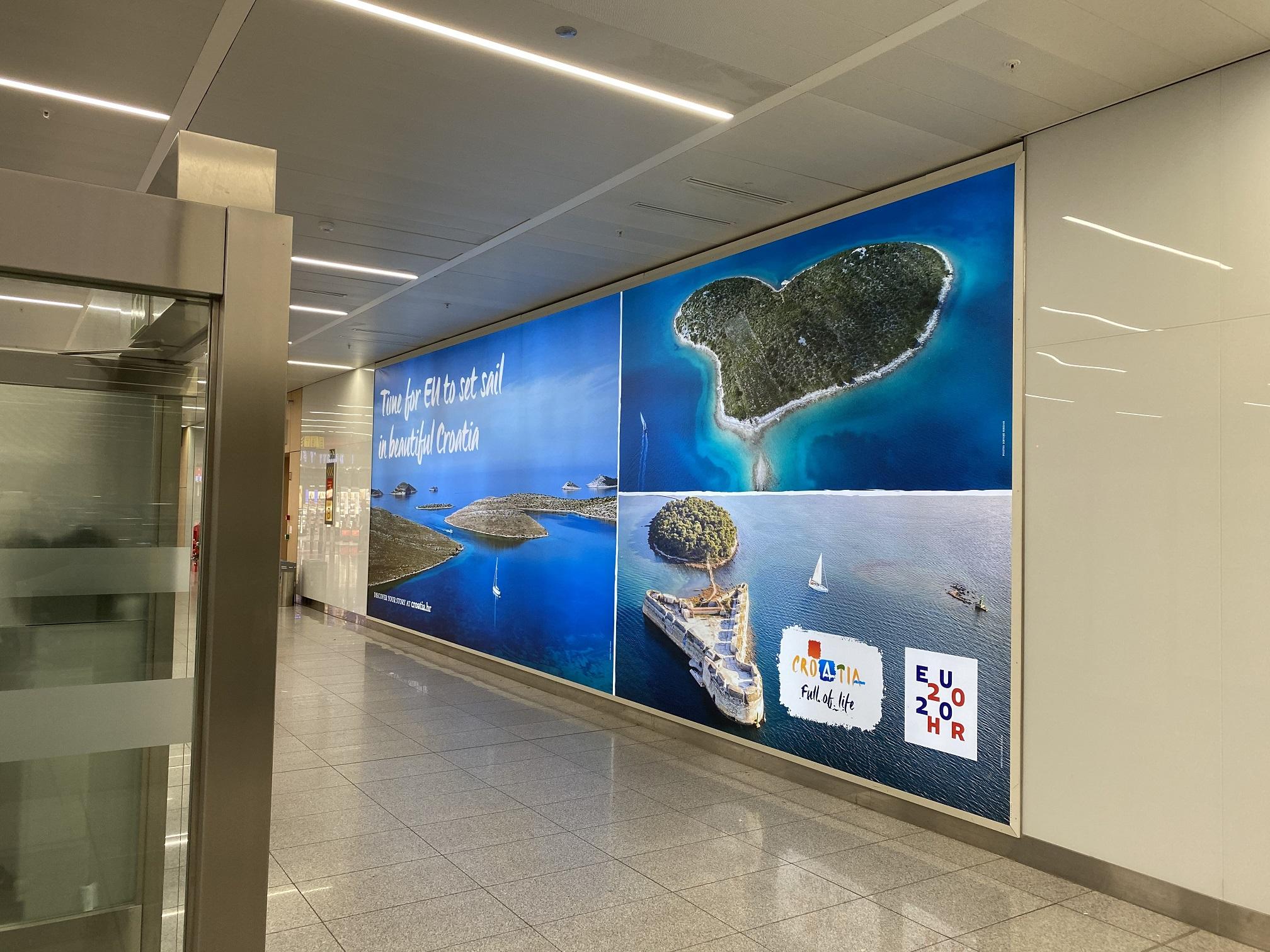 Motivi Hrvatske na najfrekventnijim lokacijama u Bruxellesu