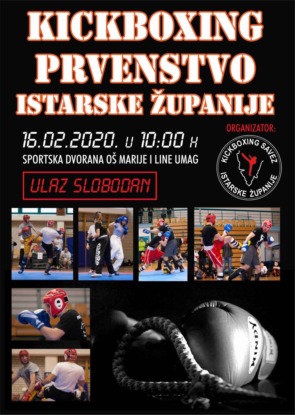 Kickboxing prvenstvo Istarske Županije u Umagu